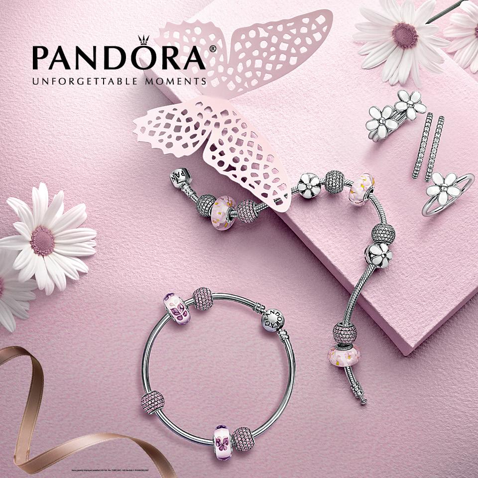 Pink Jewelry Wallpaper Pandora Pink