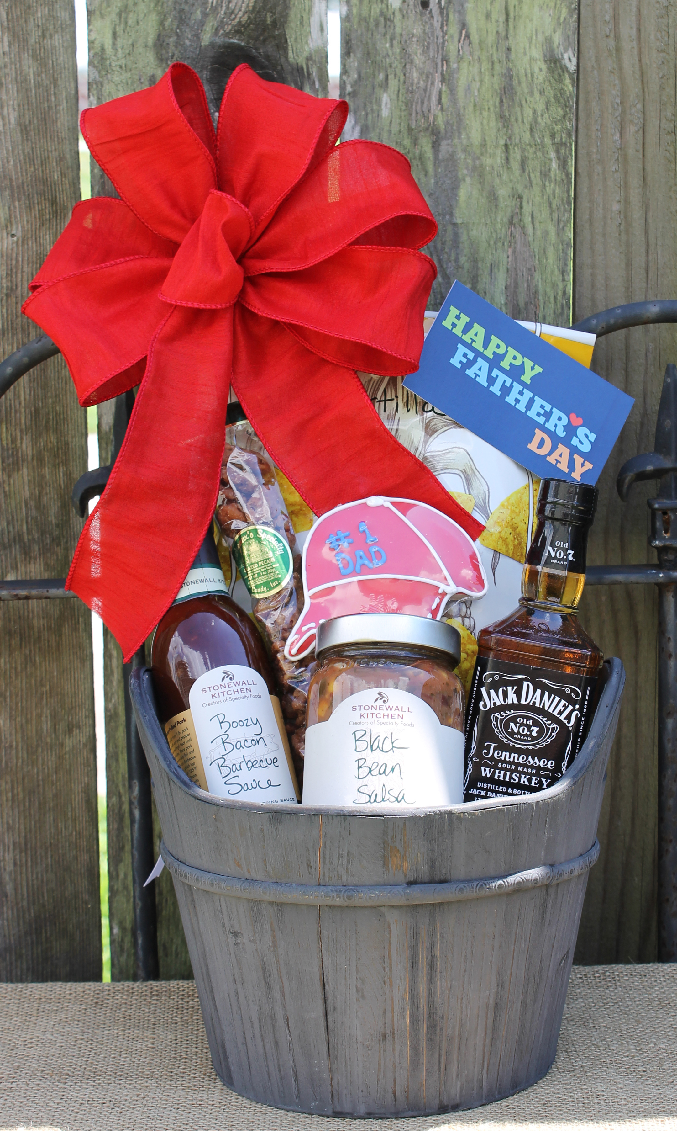 Coffee Gift Basket Fathers Day Boozy Bacon Fathers Day Basket