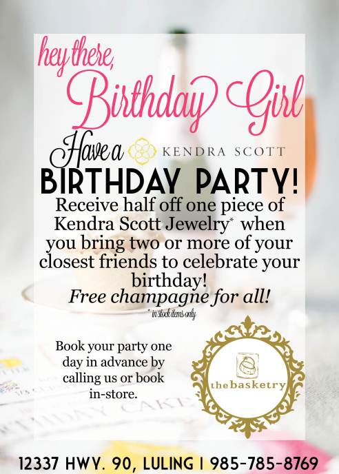 Birthday Discount Info